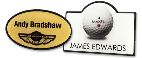 Shaped Name Badges | www.namebadgesinternational.co.uk